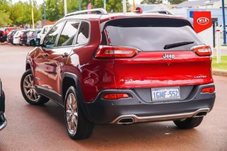 2015 Jeep Cherokee KL MY15 Limited Red 9 Speed Sports Automatic Wagon.