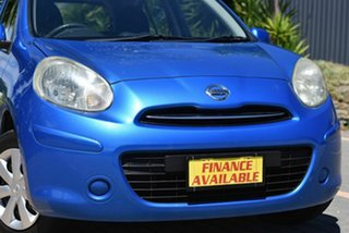 2011 Nissan Micra K13 ST Blue 4 Speed Automatic Hatchback