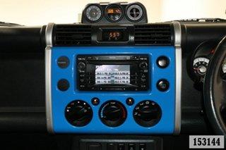 2011 Toyota FJ Cruiser GSJ15R Blue 5 Speed Automatic Wagon