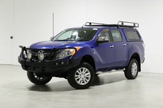 2013 Mazda BT-50 MY13 XTR (4x4) Blue 6 Speed Automatic Dual Cab Utility.