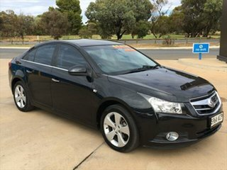 2009 Holden Cruze JG CDX Carbon Flash Black 6 Speed Sports Automatic Sedan