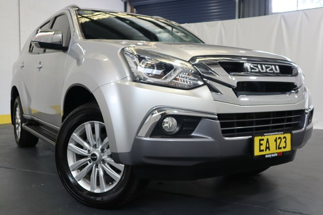 Used Isuzu MU-X MY16.5 LS-T Rev-Tronic Castle Hill, 2017 Isuzu MU-X MY16.5 LS-T Rev-Tronic Silver 6 Speed Sports Automatic Wagon