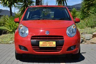 2012 Suzuki Alto GF GLX Red 5 Speed Manual Hatchback.