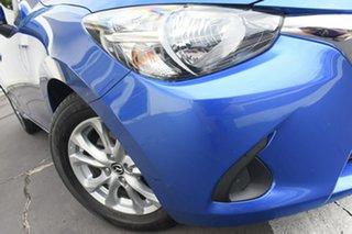 2018 Mazda 2 DL2SAA Maxx SKYACTIV-Drive Blue 6 Speed Sports Automatic Sedan.