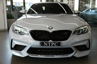 2019 BMW M2 F87 LCI Competition M-DCT Silver 7 Speed Sports Automatic Dual Clutch Coupe