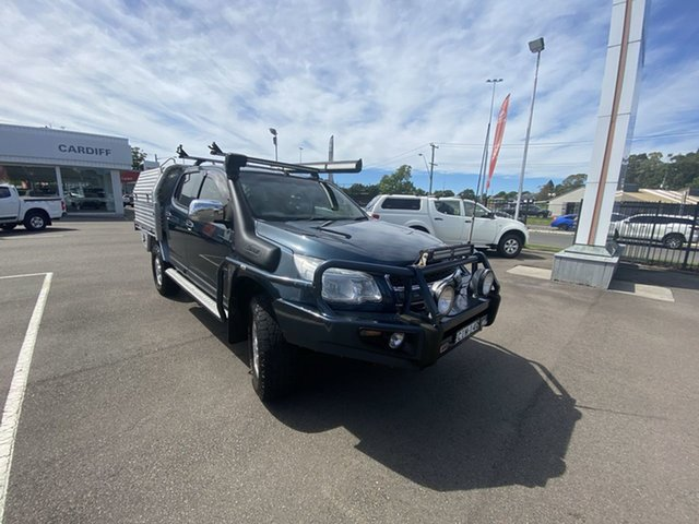 Pre-Owned Holden Colorado RG MY13 LT Crew Cab Cardiff, 2012 Holden Colorado RG MY13 LT Crew Cab Blue 5 Speed Manual Utility