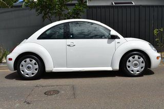 2006 Volkswagen Beetle 9C MY2006 TDI Coupe White 5 Speed Manual Liftback