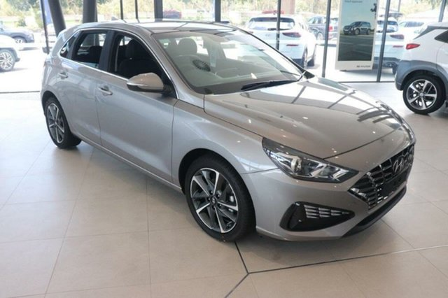 New Hyundai i30 PD.V4 MY21 Active Springwood, 2020 Hyundai i30 PD.V4 MY21 Active Fluidic Metal 6 Speed Sports Automatic Hatchback