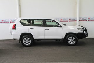 2017 Toyota Landcruiser Prado GDJ150R GX Glacier White 6 Speed Sports Automatic Wagon