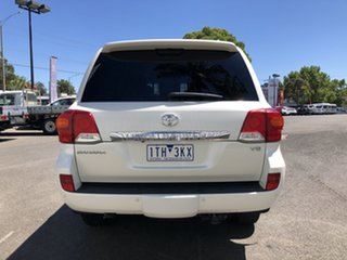 2012 Toyota Landcruiser VDJ200R MY12 Sahara (4x4) Crystal Pearl 6 Speed Automatic Wagon
