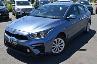 2020 Kia Cerato BD MY21 S Blue 6 Speed Sports Automatic Hatchback.
