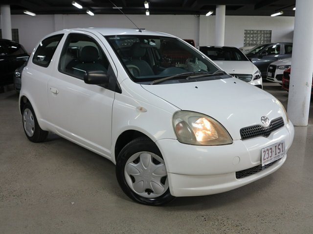 Used Toyota Echo NCP10R Albion, 2001 Toyota Echo NCP10R White 4 Speed Automatic Hatchback