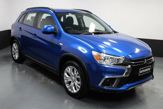 2019 Mitsubishi ASX XC MY19 ES 2WD Blue 1 Speed Constant Variable Wagon.