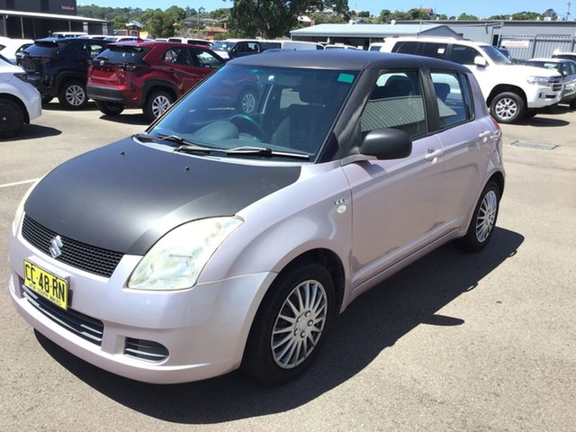 Used Suzuki Swift RS415 Cardiff, 2006 Suzuki Swift RS415 Pink 4 Speed Automatic Hatchback