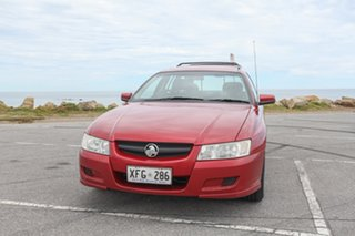 2005 Holden Commodore VZ Acclaim Maroon 4 Speed Automatic Wagon