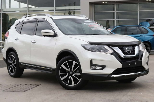 Used Nissan X-Trail T32 Series II Ti X-tronic 4WD Liverpool, 2019 Nissan X-Trail T32 Series II Ti X-tronic 4WD Ivory Pearl 7 Speed Constant Variable Wagon