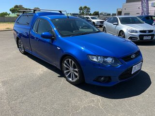 2013 Ford Falcon FG MkII XR6 Blue 6 Speed Sports Automatic Sedan.