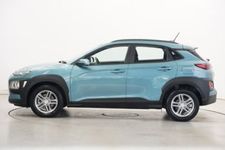 2018 Hyundai Kona OS MY18 Active 2WD Aqua 6 Speed Sports Automatic Wagon.