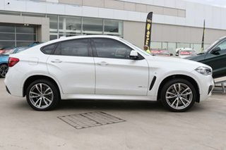 2018 BMW X6 F16 xDrive30d Coupe Steptronic White 8 Speed Sports Automatic Wagon.