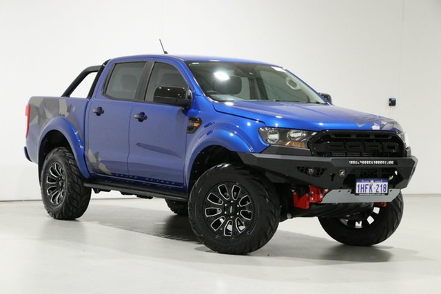 Used Ford Ranger PX MkIII MY20.75 XLS 3.2 (4x4) Bentley, 2020 Ford Ranger PX MkIII MY20.75 XLS 3.2 (4x4) Blue 6 Speed Automatic Double Cab Pick Up