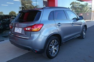 2015 Mitsubishi ASX XB MY15.5 XLS 2WD Silver 6 Speed Constant Variable Wagon