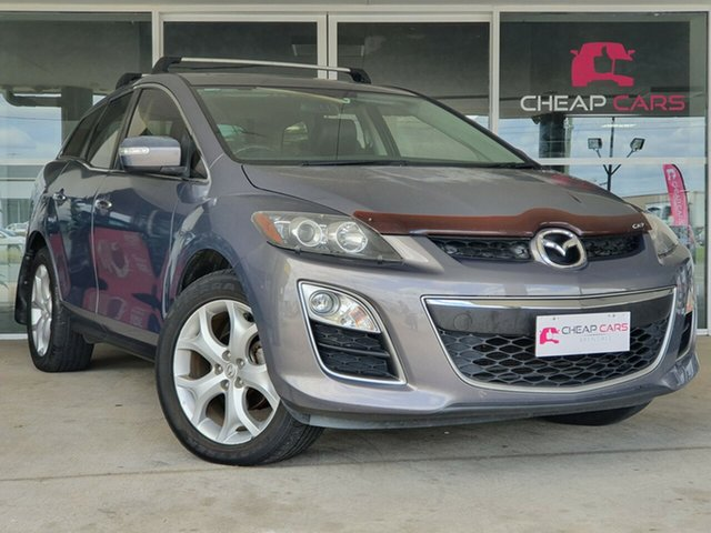 Used Mazda CX-7 ER1032 Luxury Activematic Sports Brendale, 2010 Mazda CX-7 ER1032 Luxury Activematic Sports Grey 6 Speed Sports Automatic Wagon
