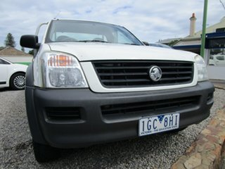 2004 Holden Rodeo RA LX White 5 Speed Manual Cab Chassis.