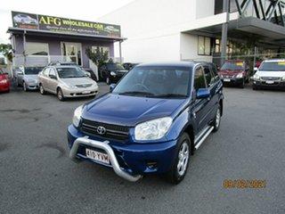 2004 Toyota RAV4 ACA22R CV (4x4) Blue 4 Speed Automatic Wagon.