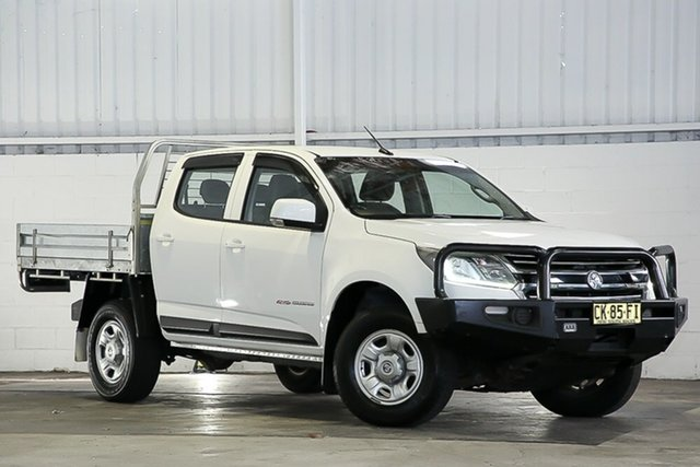 Used Holden Colorado RG MY17 LS Crew Cab West Gosford, 2017 Holden Colorado RG MY17 LS Crew Cab White 6 Speed Sports Automatic Cab Chassis