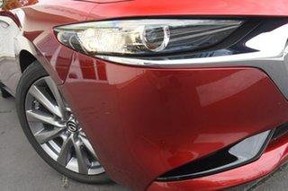 2020 Mazda 3 BP2SLA G25 SKYACTIV-Drive GT Red 6 Speed Sports Automatic Sedan.