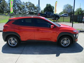 2017 Hyundai Kona OS MY18 Active D-CT AWD Orange 7 Speed Sports Automatic Dual Clutch Wagon.