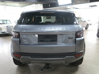 2013 Land Rover Range Rover Evoque L538 MY13 TD4 CommandShift Pure Grey 6 Speed Sports Automatic