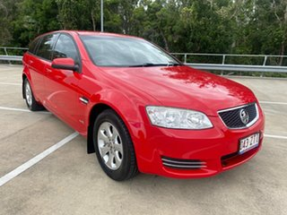 2012 Holden Commodore VE II MY12 Omega Red 6 Speed Automatic Sportswagon.