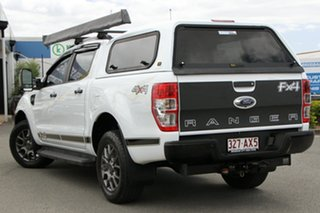 2017 Ford Ranger PX MkII 2018.00MY FX4 Double Cab Frozen White 6 Speed Sports Automatic Utility.