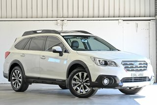 2015 Subaru Outback B6A MY15 2.5i CVT AWD Premium White 6 Speed Constant Variable Wagon.