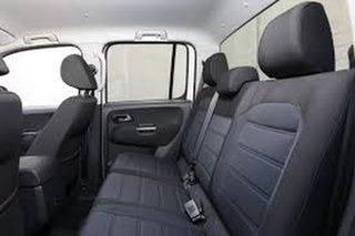 2020 Volkswagen Amarok 2H MY21 TDI550 4MOTION Perm Sportline Black 8 Speed Automatic Utility.