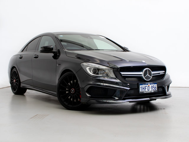 Used Mercedes-Benz CLA45 117 AMG, 2014 Mercedes-Benz CLA45 117 AMG Black 7 Speed Automatic Coupe