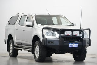 2014 Holden Colorado RG MY15 LT Crew Cab Silver 6 Speed Sports Automatic Utility