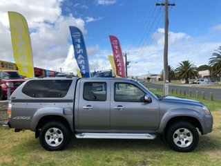 2010 Mazda BT-50 UNY0E4 SDX Grey 5 Speed Automatic Utility.