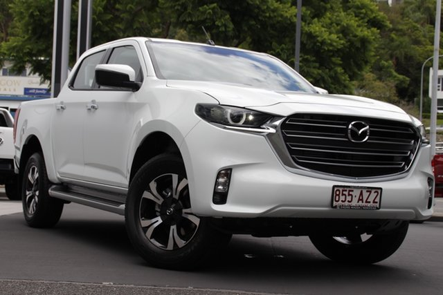 Demo Mazda BT-50 TFR40J XTR 4x2 Newstead, 2020 Mazda BT-50 TFR40J XTR 4x2 Ice White 6 Speed Sports Automatic Utility