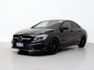 2014 Mercedes-Benz CLA45 117 AMG Black 7 Speed Automatic Coupe.