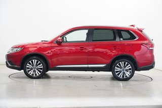 2020 Mitsubishi Outlander ZL MY20 LS 2WD Red 6 Speed Constant Variable Wagon.