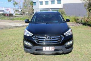 2012 Hyundai Santa Fe DM MY13 Highlander Black 6 Speed Sports Automatic Wagon.