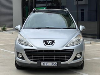 2011 Peugeot 207 A7 Series II MY10 Outdoor Touring Silver 6 Speed Manual Wagon.