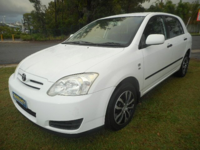 Used Toyota Corolla ZZE122R Ascent Seca Southport, 2006 Toyota Corolla ZZE122R Ascent Seca 4 Speed Automatic Hatchback
