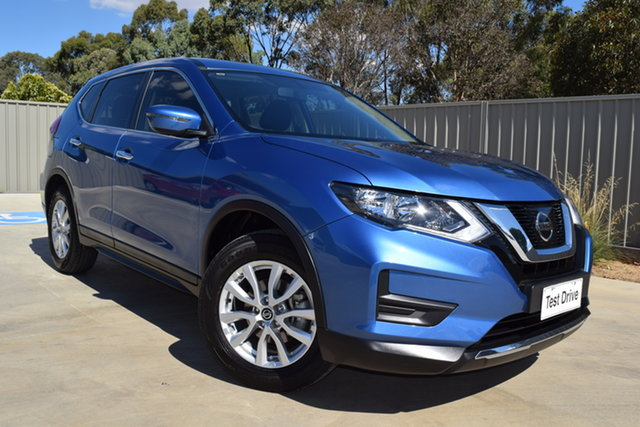 Used Nissan X-Trail T32 Series II ST X-tronic 2WD Echuca, 2018 Nissan X-Trail T32 Series II ST X-tronic 2WD Blue 7 Speed Constant Variable Wagon