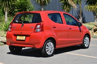 2012 Suzuki Alto GF GLX Red 5 Speed Manual Hatchback