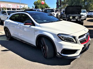 2015 Mercedes-Benz GLA-Class X156 806MY GLA45 AMG SPEEDSHIFT DCT 4MATIC White 7 Speed