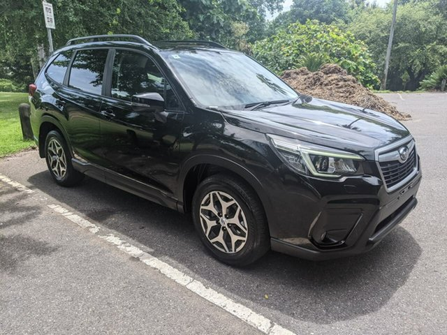 Used Subaru Forester S5 MY19 2.5i CVT AWD Stuart Park, 2019 Subaru Forester S5 MY19 2.5i CVT AWD Black 7 Speed Constant Variable Wagon