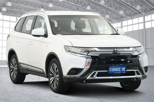 Used Mitsubishi Outlander ZL MY19 ES AWD Victoria Park, 2019 Mitsubishi Outlander ZL MY19 ES AWD White 6 Speed Constant Variable Wagon